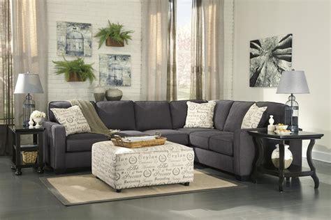 ashley furniture loric smoke sectional living room loric smoke piece ashley furniture sectional