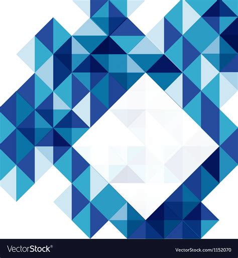 Blue Modern Geometric Design Template Royalty Free Vector Geometric Design Templates