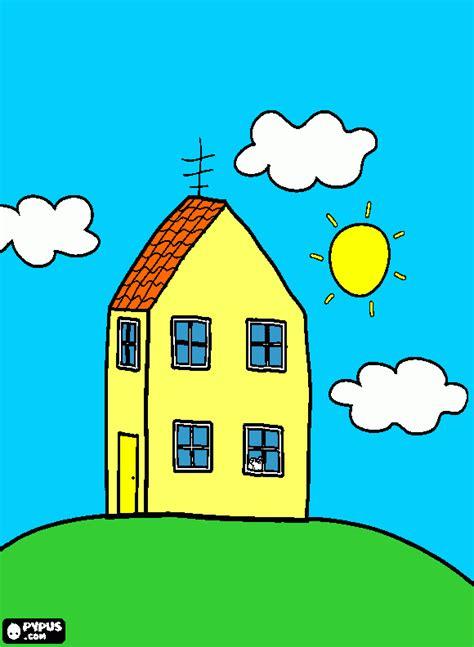 imagenes vulgares de la pepa casa pepa para colorear casa pepa para imprimir