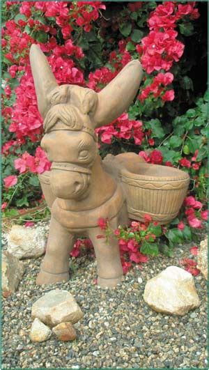 Burro Planter by 7750 Borracho The Burro Planter Rw Statuary