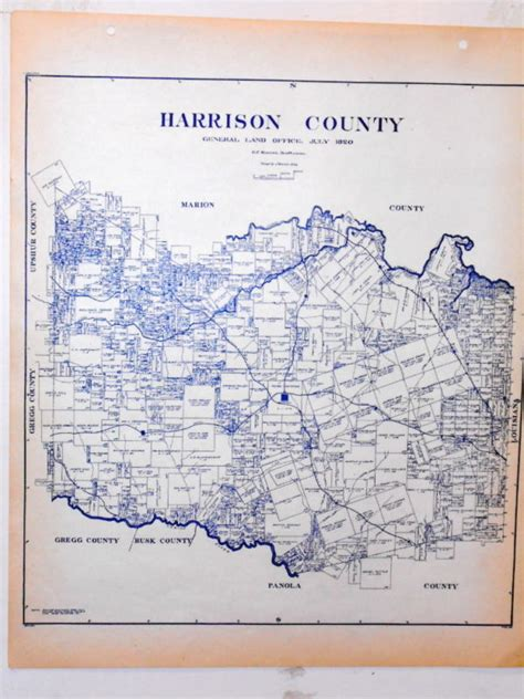 harrison county texas map marshall texas shop collectibles daily