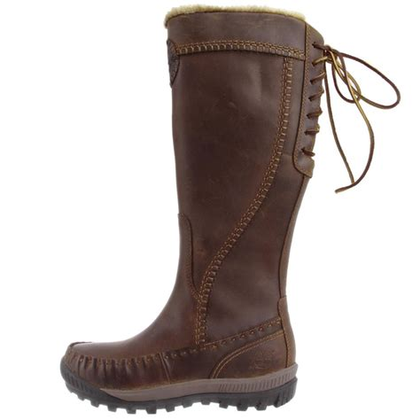 timberland mount leather zip s boots