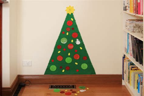 play felt christmas tree no sewing needed things for boys