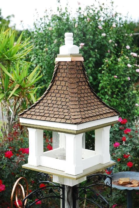 Handcrafted Bird Feeders - handcrafted bird feeder architectural design bird feeder