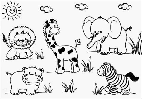 imagenes animales salvajes para colorear recursos para educaci 243 n inicial dibujos de animales para
