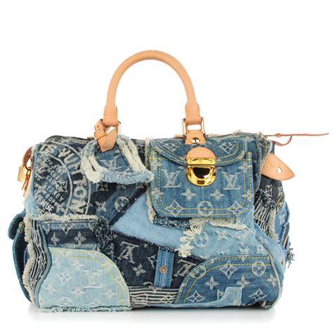 Patchwork Louis Vuitton - louis vuitton denim patchwork speedy 30 blue 126270