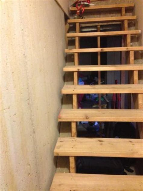 finish basement yourself how to finish these basement stairs doityourself