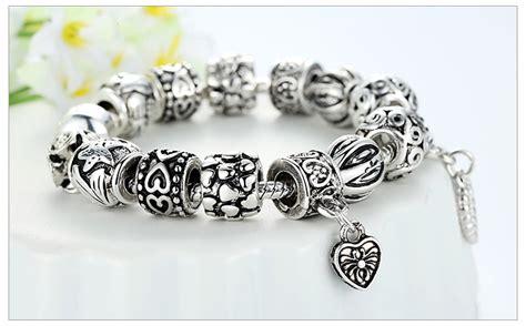 Bracelet Gelang Gelang Cantik Gelang Untuk Wanita gelang wanita bead silver jakartanotebook
