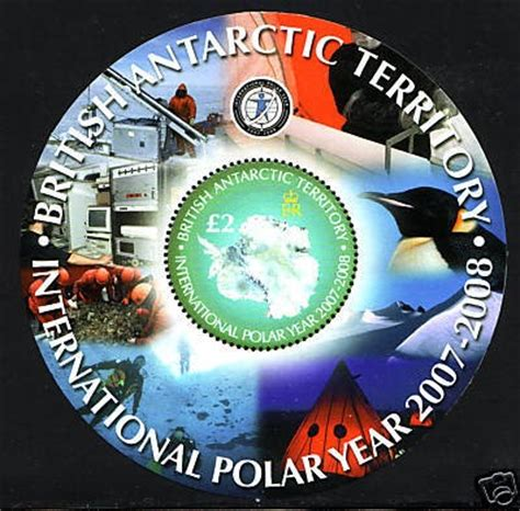 Grennland From Pole To Pole 2014 Souvenir Sheet international polar year sts international polar year