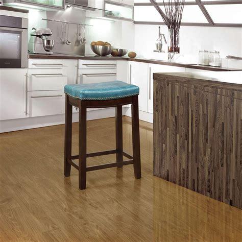 Linon Claridge Counter Stool by Linon Home Decor Claridge 24 In Brown With Blue