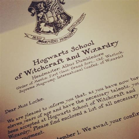 Hogwarts Acceptance Letter Uk 25 Best Ideas About Hogwarts Letter Template On
