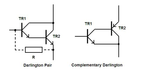darlington transistor base voltage darlington pair