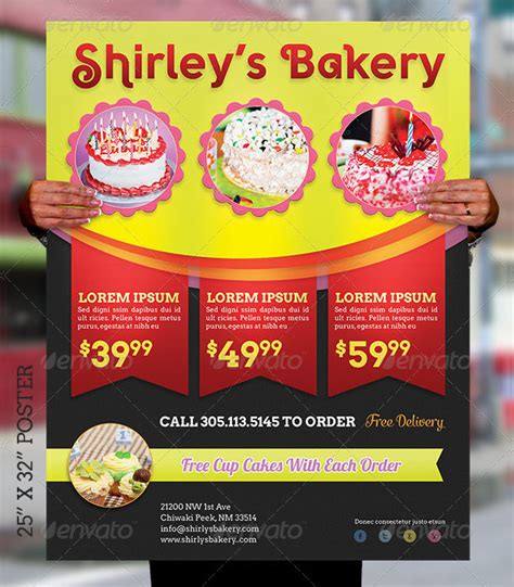 25 Bakery Poster Templates Free Premium Download Bakery Flyer Templates Free