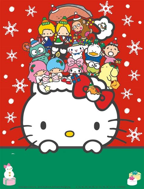 wallpaper christmas sanrio 1436 best sanrio kawaii favorites