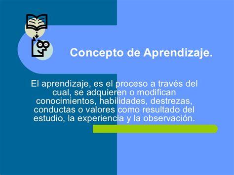 el concepto del continuum diapositivas concepto de aprendizaje