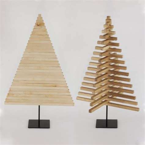 wooden christmas tree 40 inch 100 cm oak maple wood