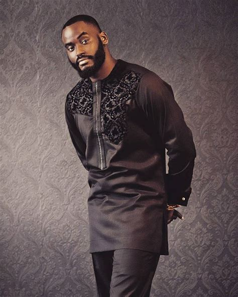 men african attire all black everything thatguypy kimonokollection