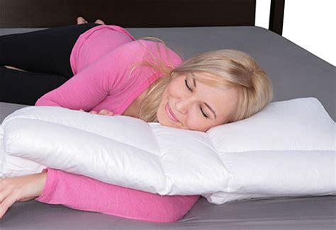Arm Sleeper Pillow by Arm Sleeper S Pillow Sharper Image