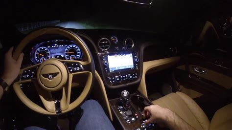 bentley bentayga night drive pov test drive youtube
