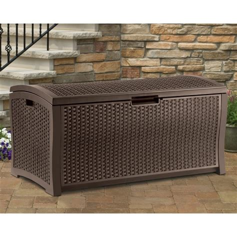 deck benches with storage outdoor storage bench on hayneedle deck boxes for patio