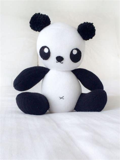 sock panda softie panda