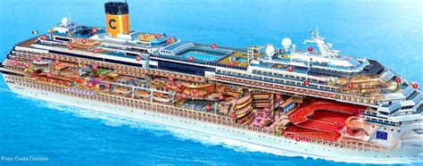 cabine navi da crociera costa fascinosa