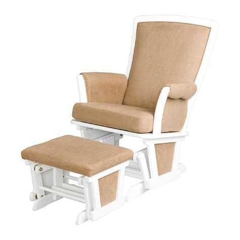glider rocker and ottoman delta children glider chair with ottoman white baby