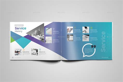 landscape brochure template by generousart graphicriver