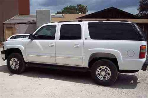 how cars engines work 2003 chevrolet suburban 2500 auto manual buy used 2003 chevy suburban 2500 4x4 duramax diesel conversion lbz salvage in atascadero
