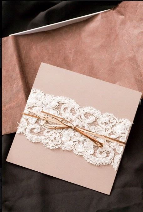 Hochzeitseinladung Diy by Diy Lace Wedding Invitation Cheap Wedding Invitation