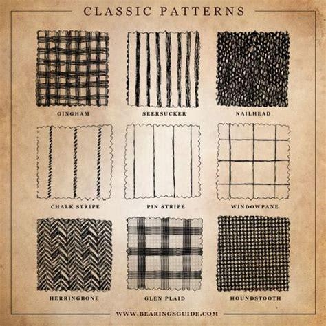 check vs plaid classic patterns gingham seersucker nailhead chalk