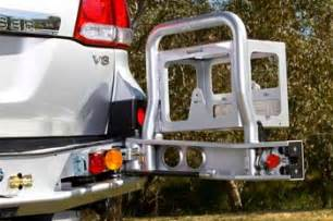 arb rear left jerry can holder toyota land cruiser 98 07