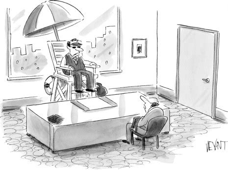 Life Guard Chair by Al In La The New Yorker Cartoon Anti Caption Contest 249