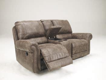 exit sofa 741 reclining sofa seat w console