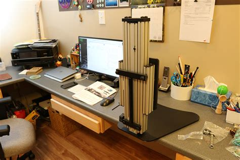 ergo desktop kangaroo pro standing desk review the gadgeteer