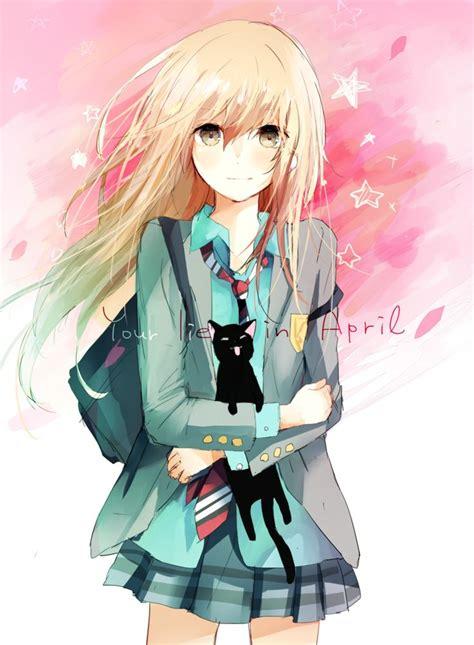 blonde anime schoolgirl 25 best ideas about anime girl neko on pinterest kawaii