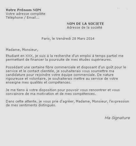 Lettre De Motivation Vendeuse En Parfumerie Gratuit Modele Lettre Motivation Vendeuse Boulangerie