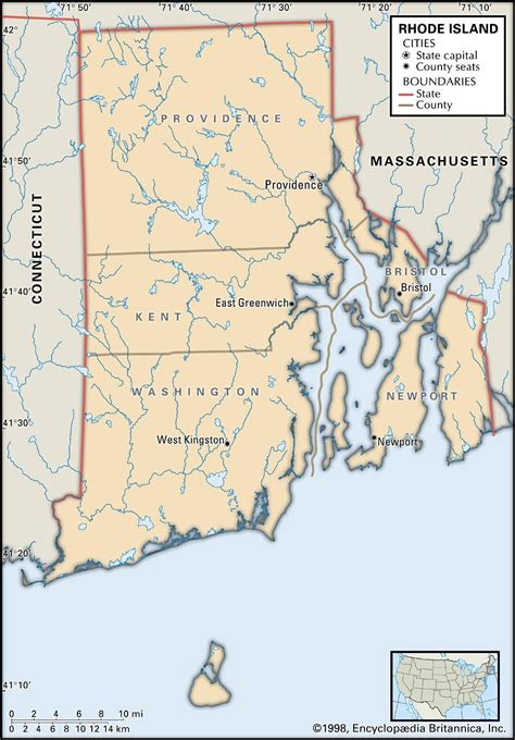 map of ri rhode island