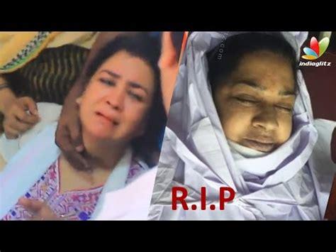 malayalam actress kalpana dead body related video