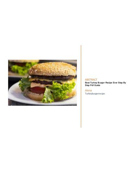 best burger cookbook best burger recipes pdf