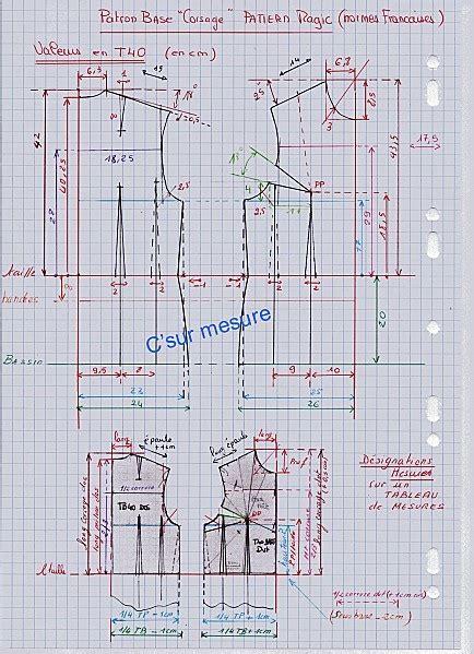 pattern making francais 127 best c tr 232 s sur avec c sur mesure images on pinterest