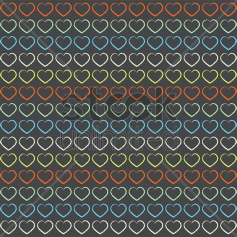 love shape pattern vector love shape pattern background vector image 1531127