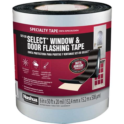 nashua 6 in x 50 ft select window and door