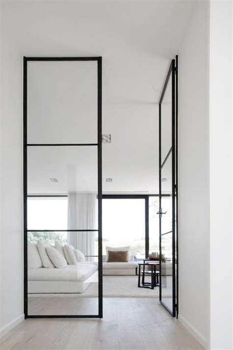 Glass And Steel Doors 33 Stylish Interior Glass Doors Ideas To Rock Digsdigs