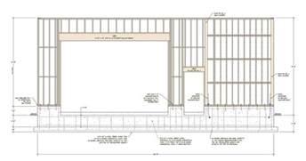 Garage Door Framing Garage Door Header Detail Wageuzi