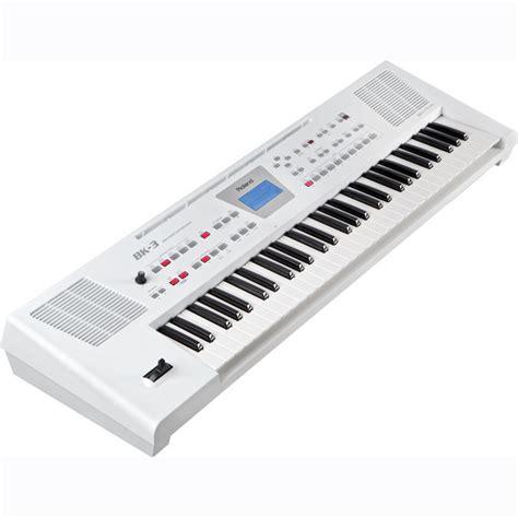 roland bk  compact backing keyboard white  demo  gearmusic