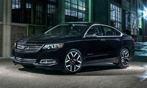 2016 chevrolet impala gets black midnight edition