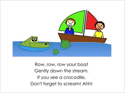 alljoinin net blog row row row your boat - Row Boat Verses
