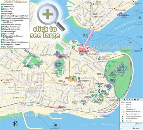 printable map of istanbul turkey maps update 1200920 tourist map of istanbul attractions
