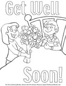 get well coloring pages az coloring pages